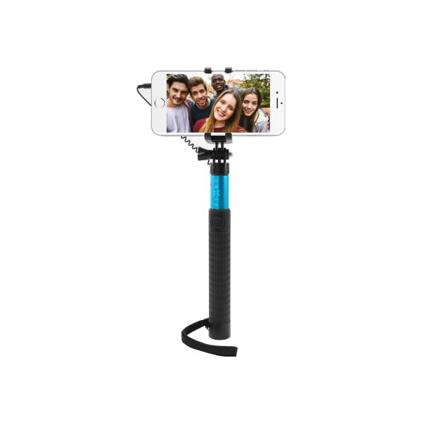 Selfie stick FIXED, niebieski