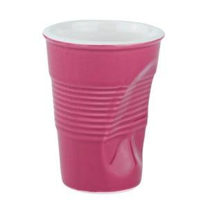 Pognieciony kubek 0,2 l, różowy