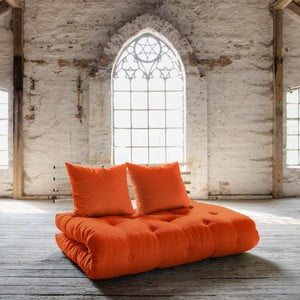 Sofa rozkładana Karup Shin Sano Natur/Orange