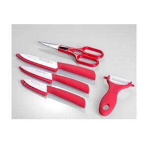 Komplet noży Quttin Rojo