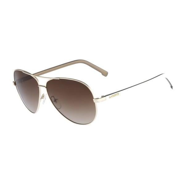 Damskie okulary przeciwsłoneczne Lacoste L155 Light Gold