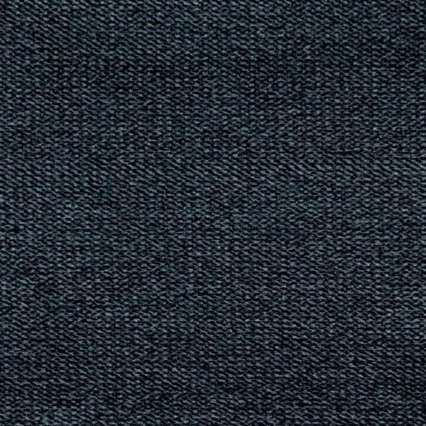 Sofa trzyosobowa VIVONITA Jonan Dark Grey, czarne nogi
