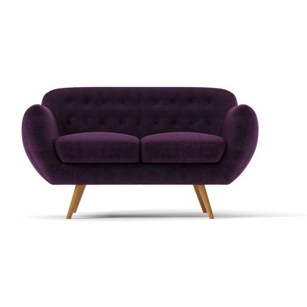 Dwuosobowa sofa Indigo, fioletowa