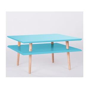 Stolik kawowy UFO Square Dark Turquoise, 35 cm