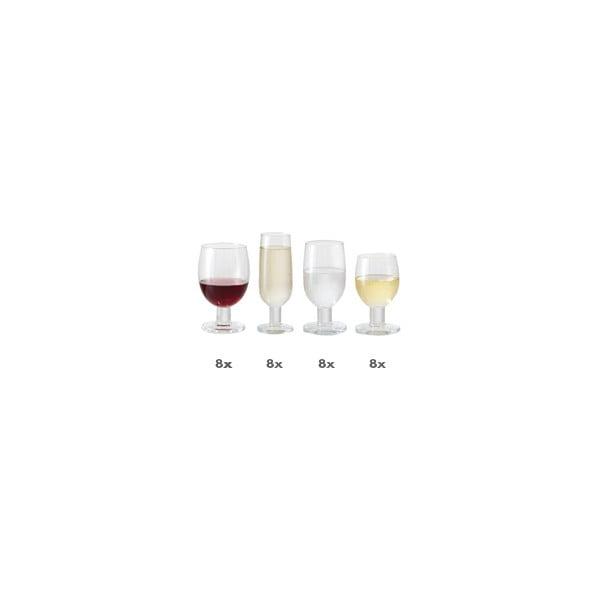 Komplet szklanek Jamie Oliver, 32 sztuki