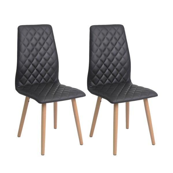 Zestaw 2 krzeseł do jadalni Colton