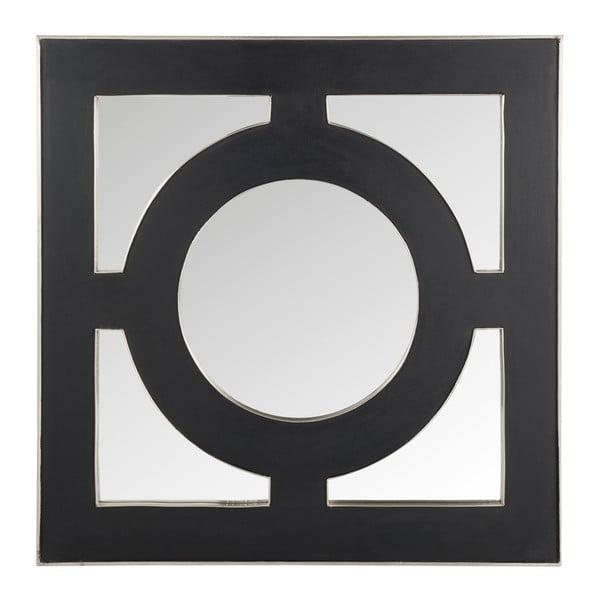 Lustro naścienne Circle 93x93 cm, czarne