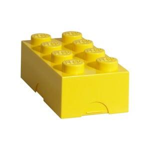 Żółty pojemnik śniadaniowy LEGO®