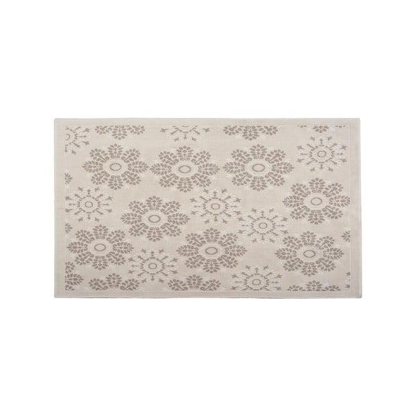 Bawełniany dywan Randa 80x300 cm, kremowy