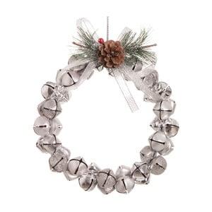 Wieniec świąteczny w kolorze srebra Unimasa Crown