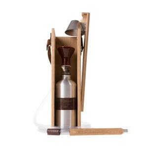 Designerska fajka wodna Hekkpipe Deluxe, brązowa