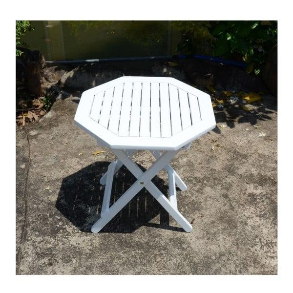 Składany stolik ogrodowy z drewna eukaliptusowego ADDU Glendale