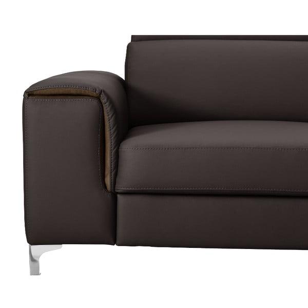 Ciemnobrązowa sofa Backstage