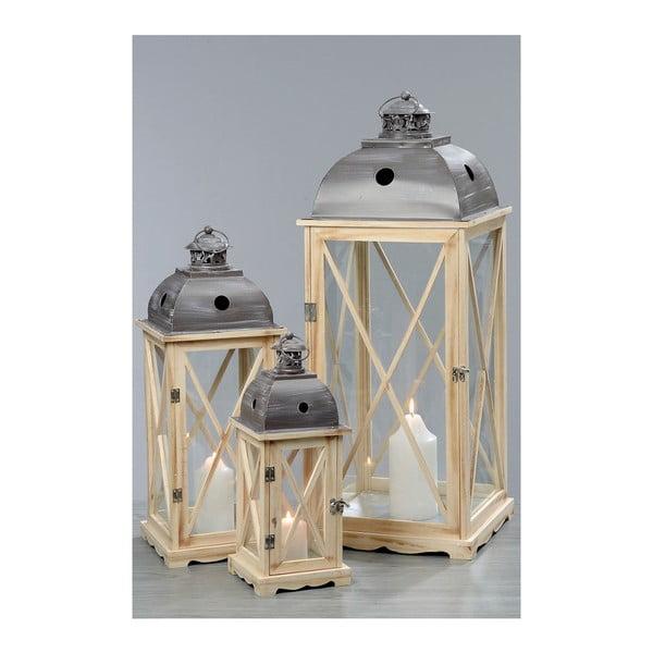 Zestaw 3 lampionów Bristol