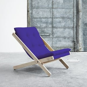 Fotel składany Karup Boogie Raw/Violet