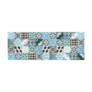 Dywan winylowy Mosaico Turquesa, 50x100 cm