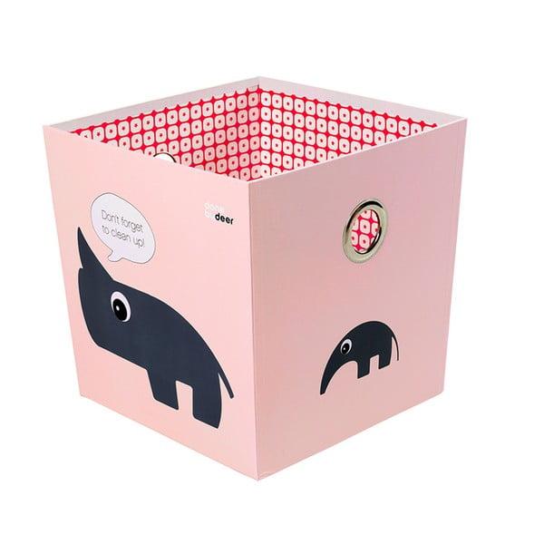 Pudełko Powder Deer, różowa