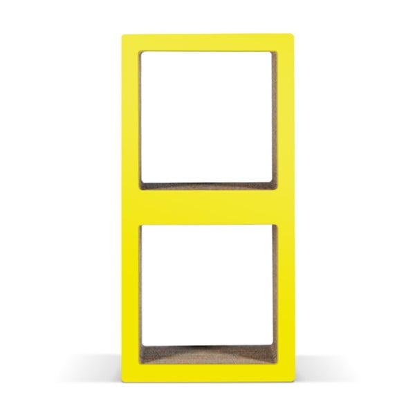Kartonowa biblioteczka Bit Due Yellow