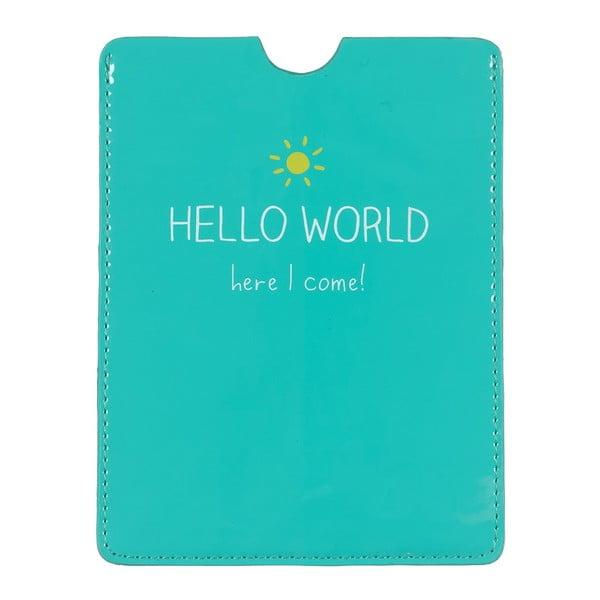 Etui na paszport Happy Jackson Hello World