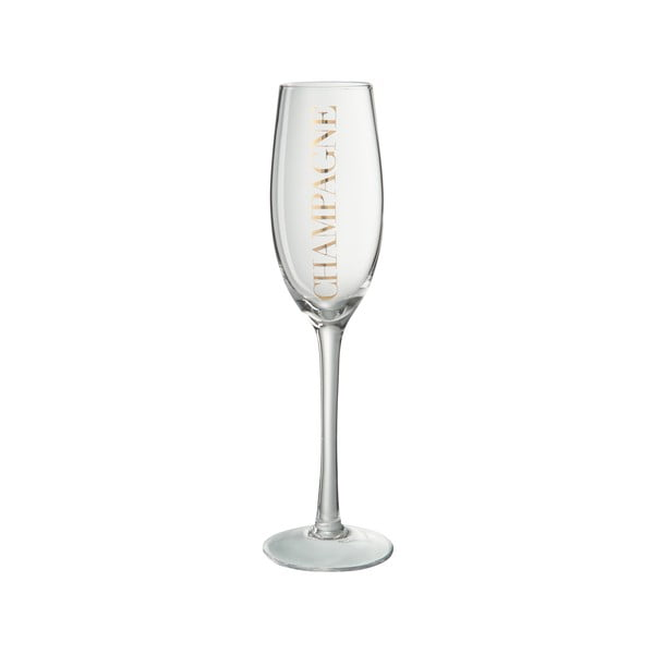 Kieliszek do szampana J-Line Gold Elegance