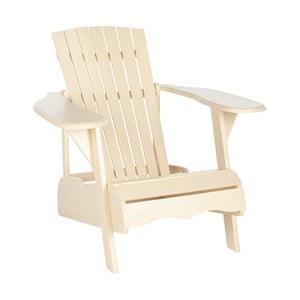 Krzesło ogrodowe Maria, kremowe