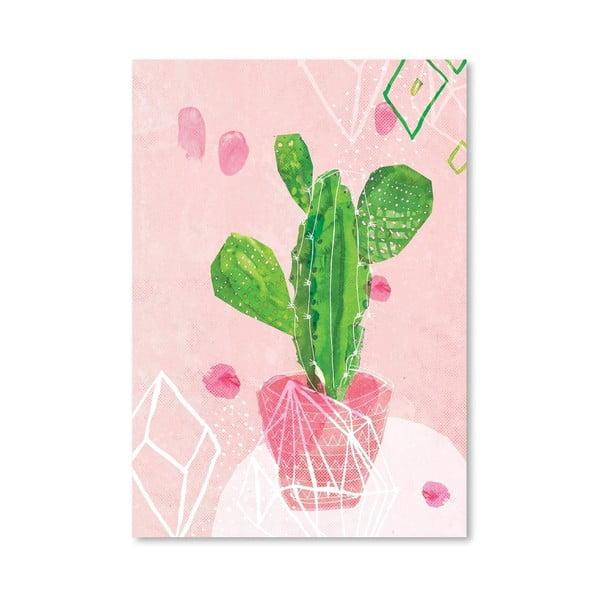 Plakat Pastel Cactus, 30x42 cm