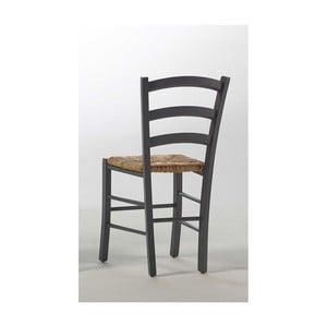 Szare krzesło z drewna sosnowego SOB Palerma