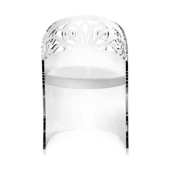 Fotel Amal Transparente
