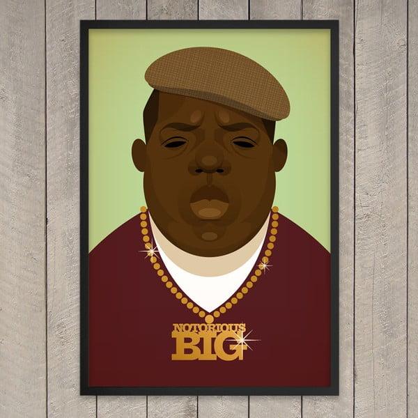 """Plakat """"Biggie"""", 29,7x42 cm"""