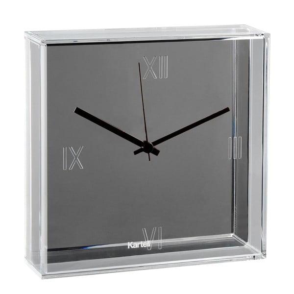 Srebrny zegar Kartell Tic & Tac New