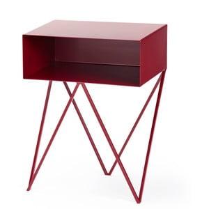 Bordowy stolik &New Robot
