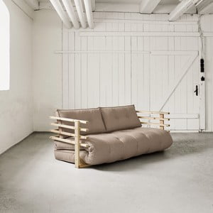 Sofa rozkładana dwuosobowa Karup Funk Natural/Vision