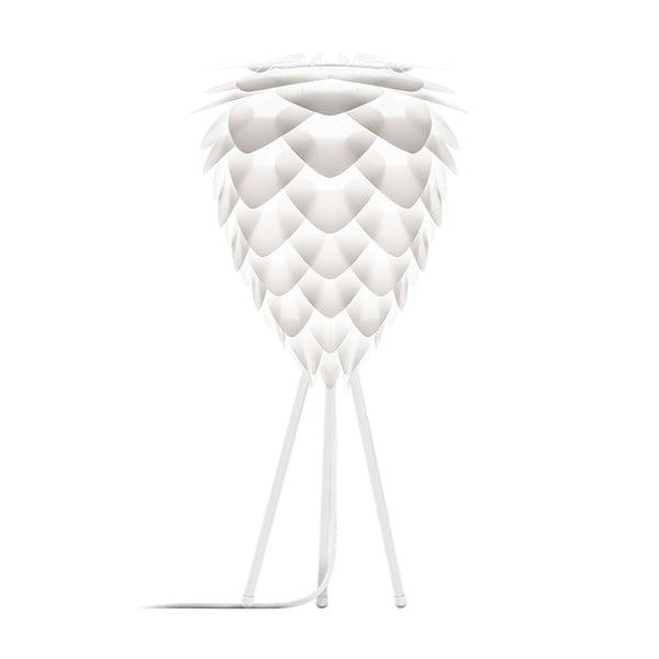 Biały abażur VITA Copenhagen Conia, Ø30cm