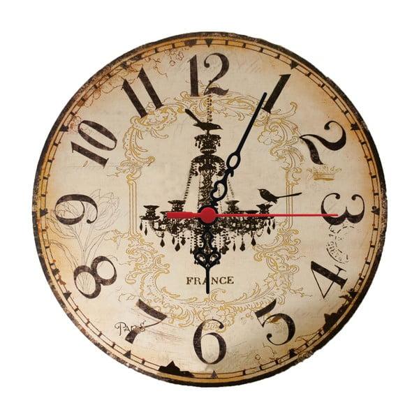 Zegar ścienny Chandelier, 30 cm
