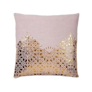 Poduszka z wypełnieniem Lace Rose, 50x50 cm