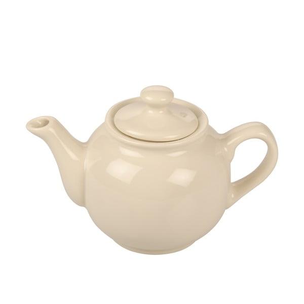 Kremowy dzbanek kamionkowy Kaleidos Teapot
