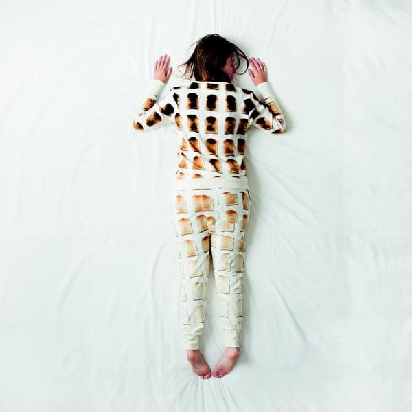 Biała bluza damska  Snurk Toast, S