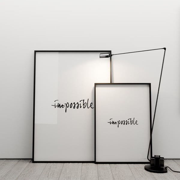 Plakat (im)possible, 50x70 cm