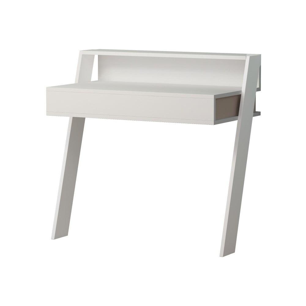 Białe biurko Homitis Cowork