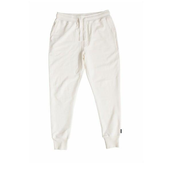 Białe spodnie męskie Snurk Uni, XL