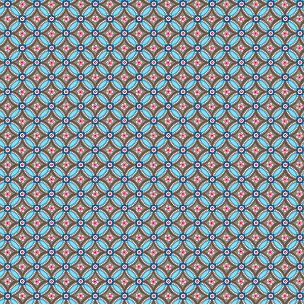 Tapeta Pip Studio Geometric, 0,52x10 m, brązowo-niebieska