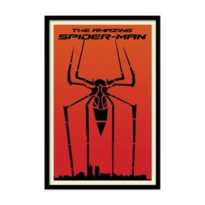 Plakat The Amazing Spiderman, 35x30 cm