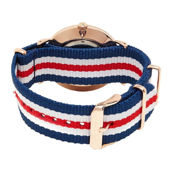 Zegarek męski Madison Stripe Red/White/Blue