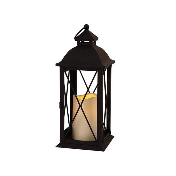 Czarny lampion LED Best Season Dina