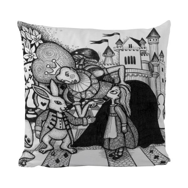Poduszka Black Shake Wonderland Queen, 50x50 cm
