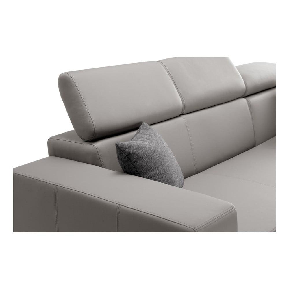 szarobr zowy naro nik prawostronny interieur de famille paris tresor bonami. Black Bedroom Furniture Sets. Home Design Ideas