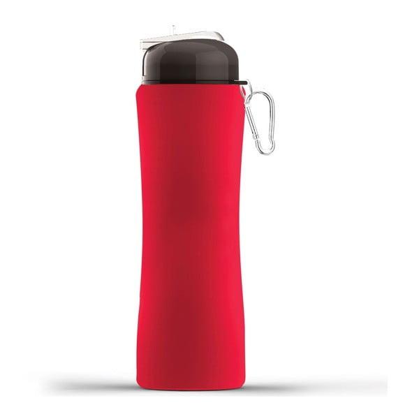Rewolucyjna butelka Sili-Squeeze, czerwona, 650 ml