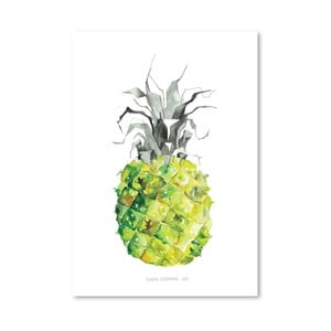 Plakat Pineapple Yellow, 30x42 cm