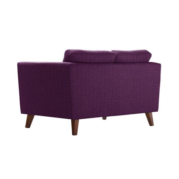 Śliwkowa sofa dwuosobowa Jalouse Maison Elisa