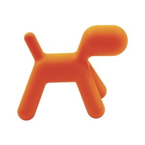 Krzesełko Puppy pomarańczowe, 43 cm